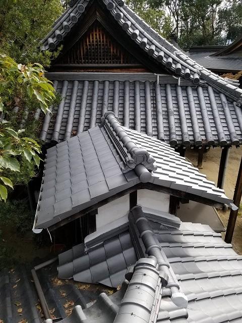 寺社仏閣屋根