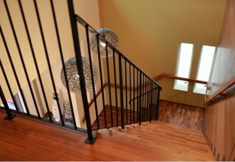 折り返し階段