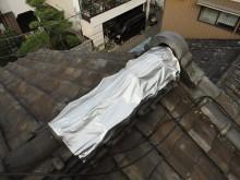 屋根雨漏り部