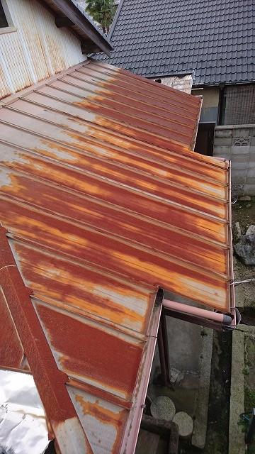 屋根材の錆