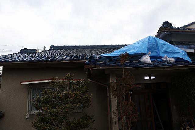 屋根雨漏れ