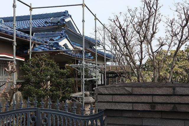 屋根補修完成