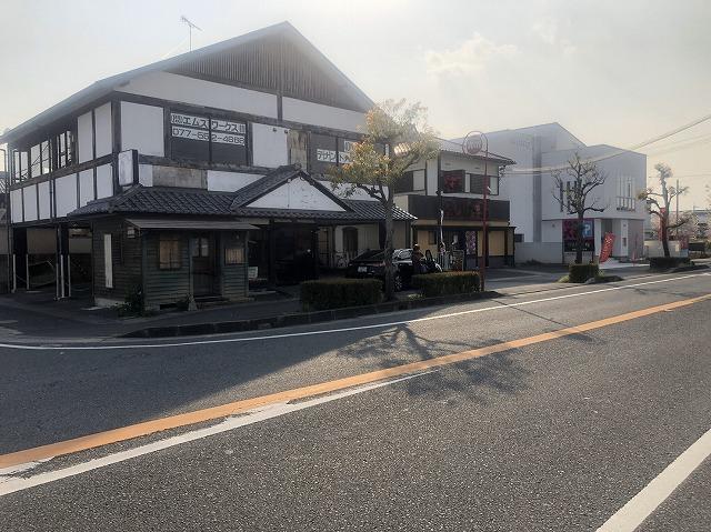 栗東市霊山寺にて飲食店舗改修工事の為に現場調査