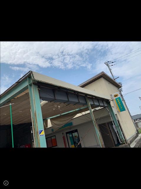 彦根市高宮の某運送会社の中継場のテント屋根の改修の為に現調