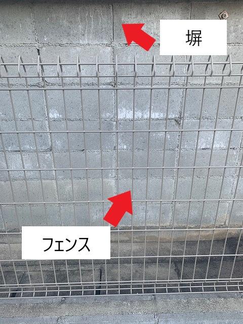 塀とフェンス
