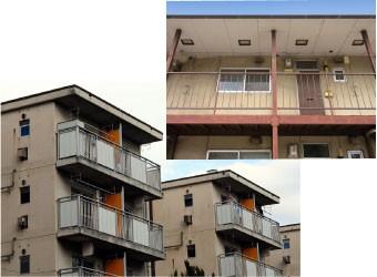 老朽化の進むマンションやアパート